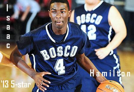 Isaac Hamilton '13 5-Star